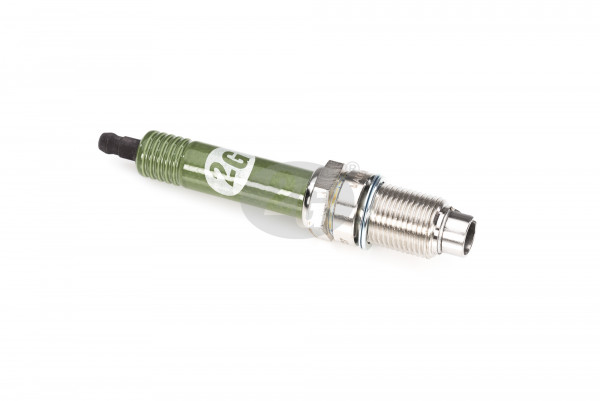 Spark plug shrouded