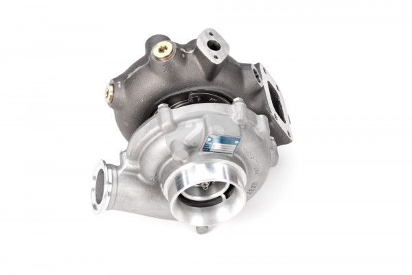 exhaust gas turbocharger 1500 1/min