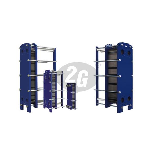 Plattenwärmetauscher S47-IG10-125-TKTM81-LIQUID, geschraubt