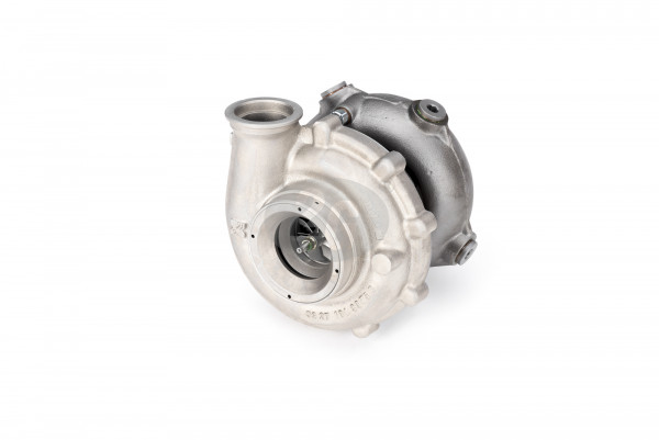 exhaust gas turbocharger suitable for right and left side