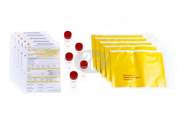 Ölanalysesatz Shell (5 Ölproben) 60ml