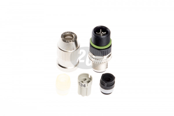 Plug connector SACC-MS-4QO-0,34-M SCO