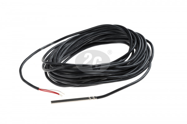 Cable sensor PT100B 80mm, 3-conductor for protective tube 45mm