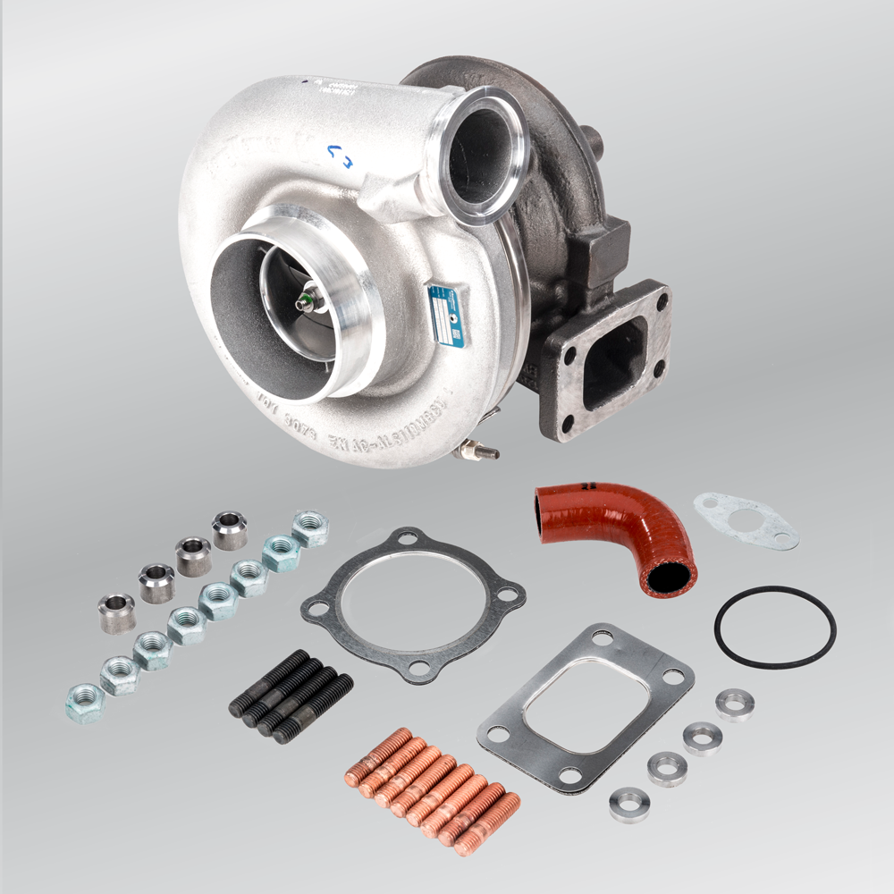"""<p><span style=""""color: #007000; font-size: large;""""><strong>Turbochargers.<br><br></strong><span style=""""color: #000000;""""><span style=""""font-size: small;"""">A turbocharger compresses the gas/air mixture, whereby more combustion gas enters the motor's combustion chamber, therefore increasing the motor's efficiency.&nbsp;Original part from a designated brand name manufacturer, meets the manufacturer's specification.</span></span></span></p> <p><strong><span style=""""color: #007000;"""">- no refurbished items, we are dealing exclusively with new products here</span></strong></p>"""